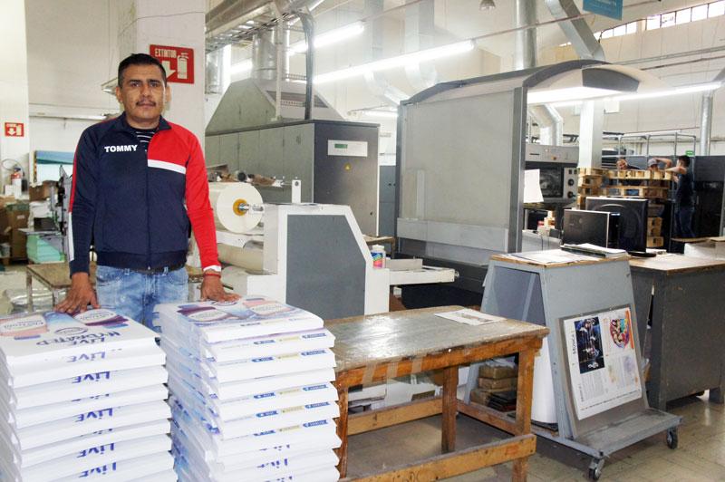 Impresores en su tinta: José Jair Lázaro Ceja